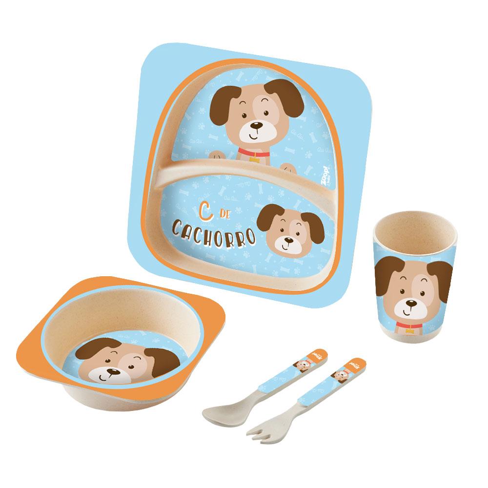 Zoop Baby | Kit Alimentação 5 Peças Cachorro – ZP00827